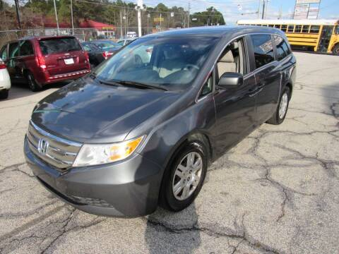 2012 Honda Odyssey for sale at King of Auto in Stone Mountain GA