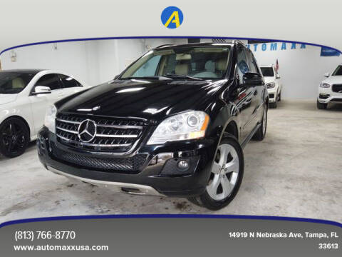 2011 Mercedes-Benz M-Class for sale at Automaxx in Tampa FL