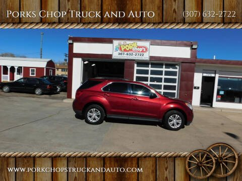 2010 Chevrolet Equinox for sale at Porks Chop Truck and Auto in Cheyenne WY