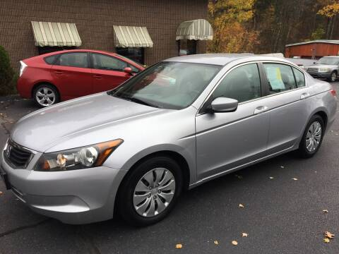 2009 Honda Accord for sale at Depot Auto Sales Inc in Palmer MA