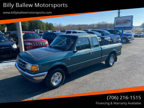 1997 Ford Ranger for sale at Billy Ballew Motorsports in Dawsonville GA