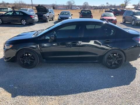 2017 Subaru WRX for sale at LYNDON MOTORS in Lyndon KS