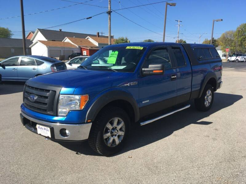 2013 Ford F-150 for sale at AUTO PLUS INC in Marinette WI