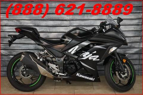 2017 Kawasaki Ninja 300 ABS for sale at AZautorv.com in Mesa AZ