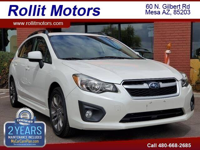 2014 Subaru Impreza for sale at Rollit Motors in Mesa AZ