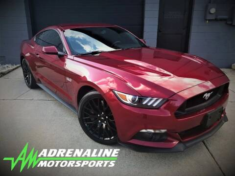 2015 Ford Mustang for sale at Adrenaline Motorsports Inc. in Saginaw MI