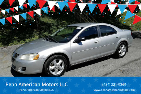2005 Dodge Stratus for sale at Penn American Motors LLC in Allentown PA