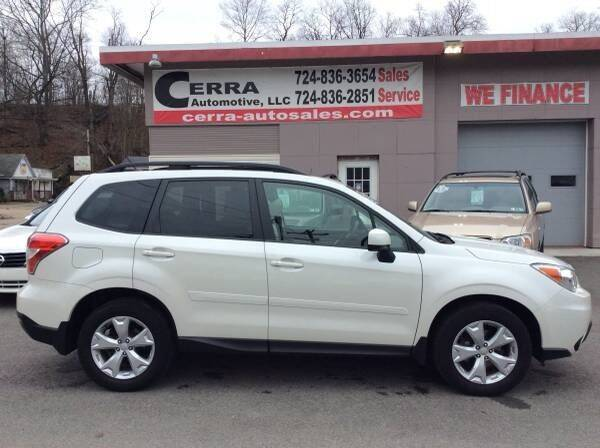 2015 Subaru Forester for sale at Cerra Automotive LLC in Greensburg PA