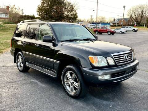 2006 Lexus LX 470 for sale at ANZ Auto llc in Fredericksburg VA