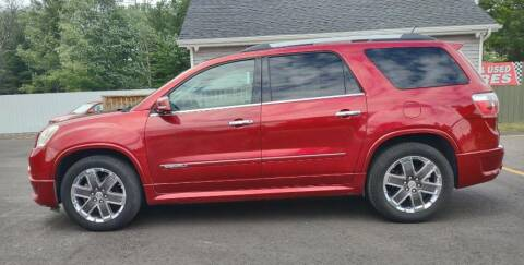 2012 GMC Acadia for sale at Hilltop Auto in Prescott MI