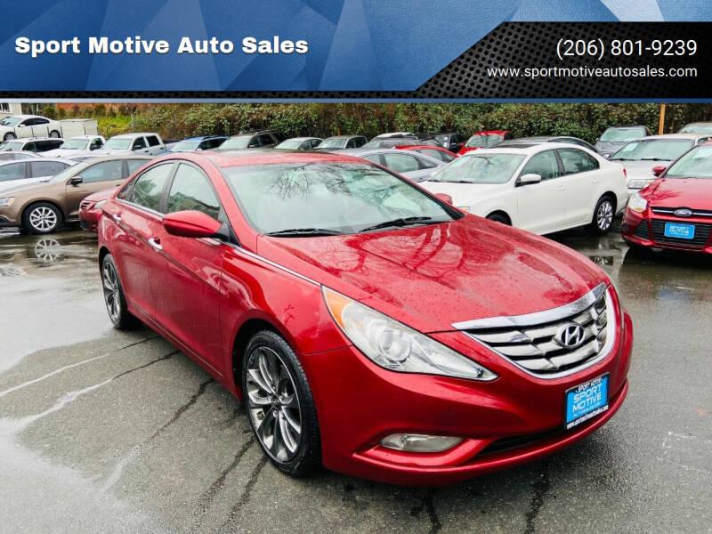 2011 Hyundai Sonata for sale at Sport Motive Auto Sales in Seattle WA