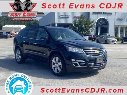 2014 Chevrolet Traverse for sale at SCOTT EVANS CHRYSLER DODGE in Carrollton GA