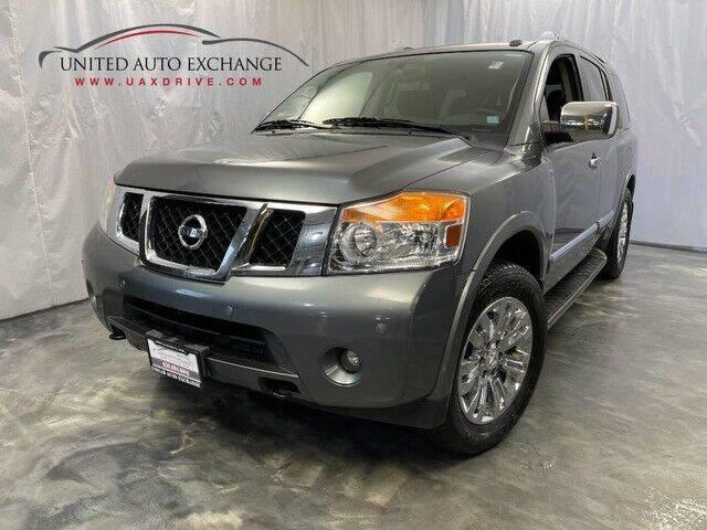 2015 Nissan Armada for sale at United Auto Exchange in Addison IL
