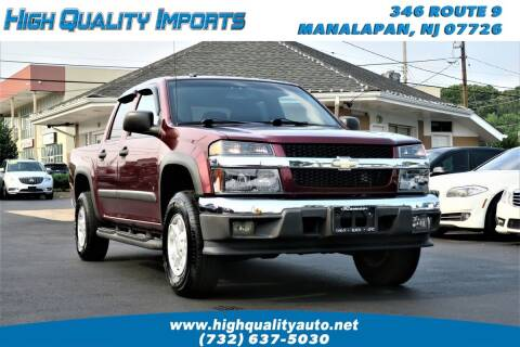 2008 Chevrolet Colorado for sale at High Quality Imports in Manalapan NJ