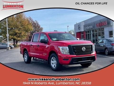 2021 Nissan Titan for sale at Nissan of Lumberton in Lumberton NC