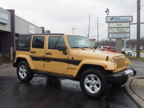 2013 Jeep Wrangler Unlimited for sale at Cj king of car loans/JJ's Best Auto Sales in Troy MI