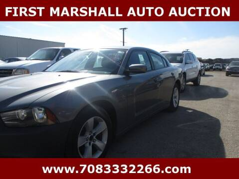 2012 Dodge Charger for sale at First Marshall Auto Auction in Harvey IL