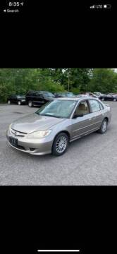 2005 Honda Civic for sale at Bluesky Auto in Bound Brook NJ