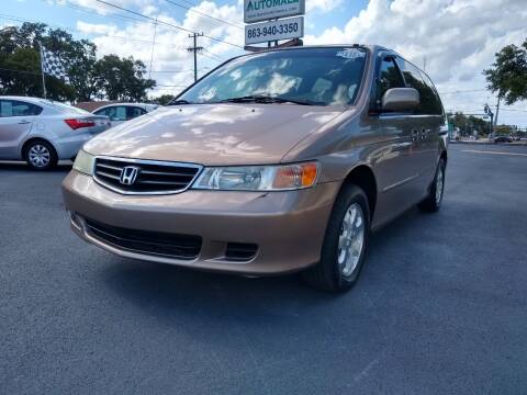 2003 Honda Odyssey for sale at BAYSIDE AUTOMALL in Lakeland FL