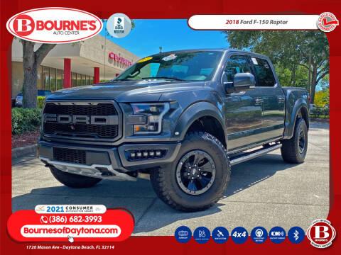 2018 Ford F-150 for sale at Bourne's Auto Center in Daytona Beach FL