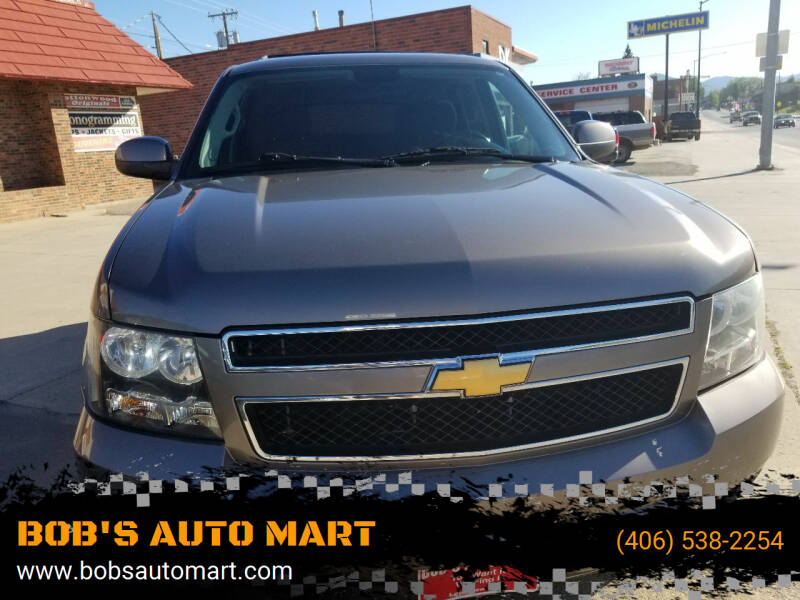 2012 Chevrolet Tahoe for sale at BOB'S AUTO MART in Lewistown MT