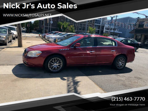 2006 Buick Lucerne for sale at Nick Jr's Auto Sales in Philadelphia PA