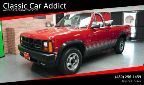 1989 Dodge Dakota for sale at Classic Car Addict in Mesa AZ