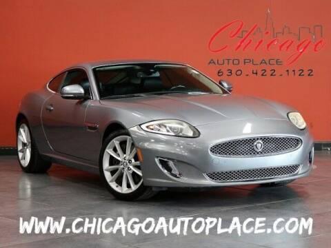 2013 Jaguar XK for sale at Chicago Auto Place in Bensenville IL