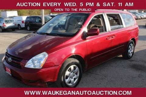 2007 Kia Sedona for sale at Waukegan Auto Auction in Waukegan IL