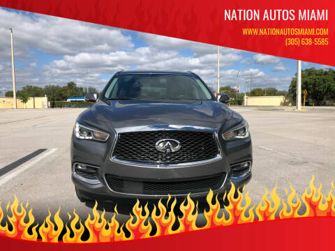 2018 Infiniti QX60 for sale at Nation Autos Miami in Hialeah FL