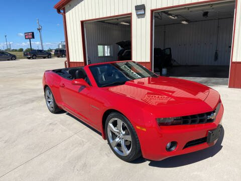 2012 Chevrolet Camaro for sale at SCOTT LEMAN AUTOS in Goodfield IL
