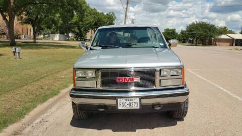 1997 GMC Sierra 1500 for sale at CLASSIC MOTOR SPORTS in Winters TX