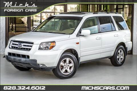 2008 Honda Pilot for sale at Mich's Foreign Cars in Hickory NC