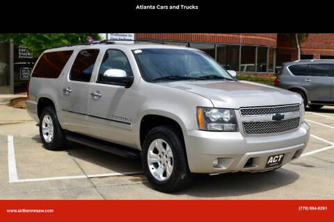 2009 Chevrolet Suburban for sale at Atlanta Cars and Trucks in Kennesaw GA