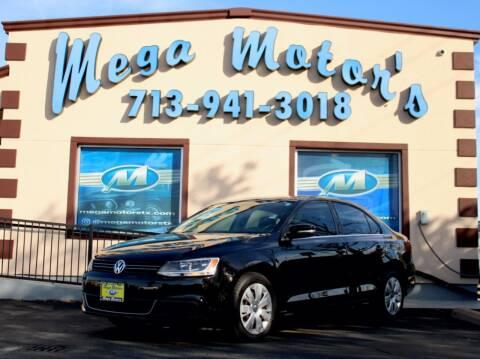 2013 Volkswagen Jetta for sale at MEGA MOTORS in South Houston TX