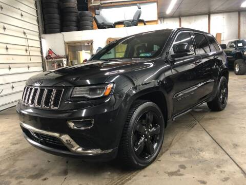 2016 Jeep Grand Cherokee for sale at T James Motorsports in Gibsonia PA