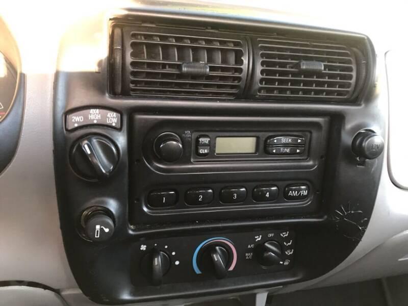 2000 Ford Ranger 2dr XL 4WD Standard Cab SB - Portland OR