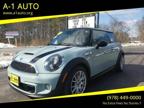 2011 MINI Cooper for sale at A-1 Auto in Pepperell MA