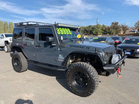 2017 Jeep Wrangler Unlimited for sale at Blue Diamond Auto Sales in Ceres CA