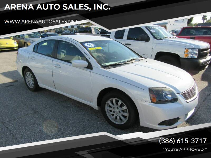 2011 Mitsubishi Galant for sale at ARENA AUTO SALES,  INC. in Holly Hill FL