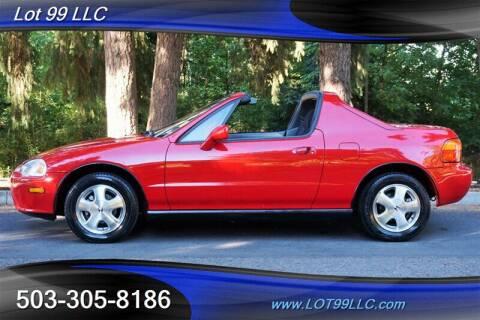 1994 Honda Civic del Sol for sale at LOT 99 LLC in Milwaukie OR