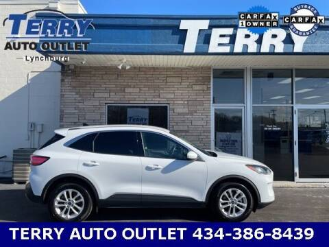 2020 Ford Escape for sale at Terry Auto Outlet in Lynchburg VA
