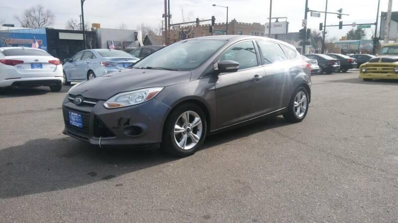 2013 Ford Focus for sale at Unlimited Motors, LLC in Denver CO