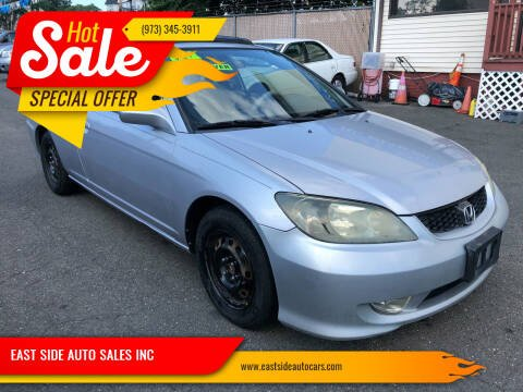 2004 Honda Civic for sale at EAST SIDE AUTO SALES INC in Paterson NJ