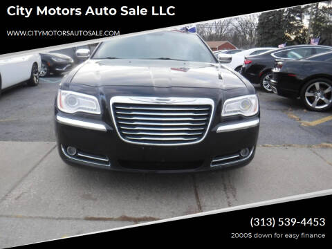2012 Chrysler 300 for sale at City Motors Auto Sale LLC in Redford MI