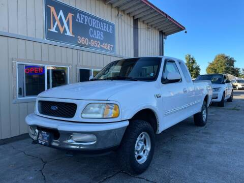 1997 Ford F-150 for sale at M & A Affordable Cars in Vancouver WA