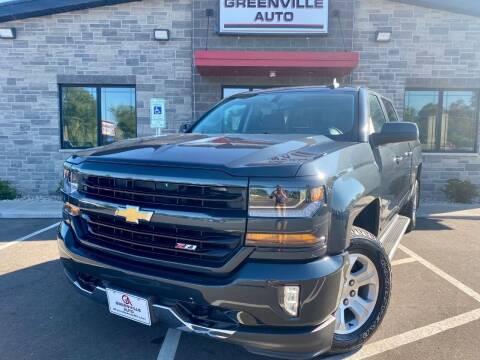 2018 Chevrolet Silverado 1500 for sale at GREENVILLE AUTO in Greenville WI