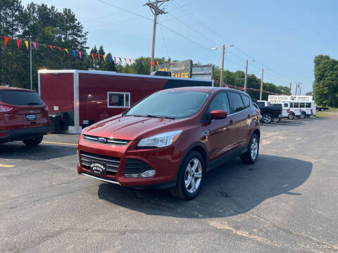 2015 Ford Escape for sale at Affordable Auto Sales in Webster WI