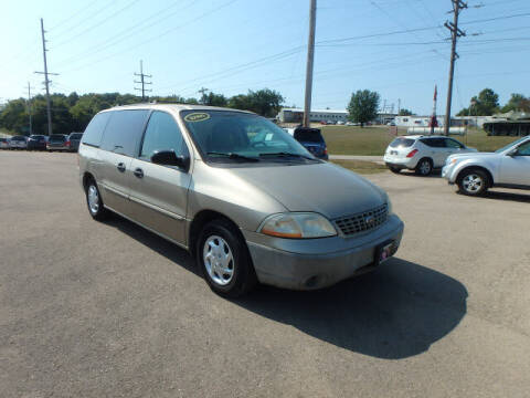 2001 Ford Windstar for sale at BLACKWELL MOTORS INC in Farmington MO