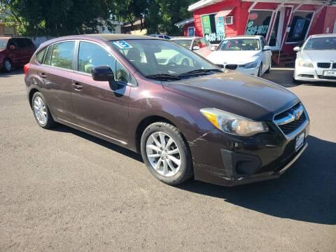 2013 Subaru Impreza for sale at Universal Auto Sales in Salem OR